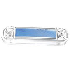 LED marker light blue | 12-24v | 50cm. cable
