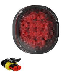 LED fog light | 12-24v | 50cm. cable & Super Seal (flat mounting)
