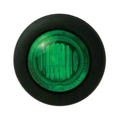 LED interieurverlichting groen  | 12-24v |  20cm. kabel