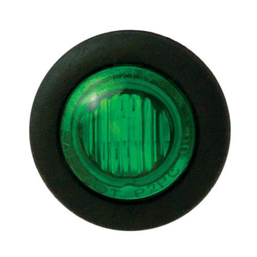 Innen-grüne LED | 12-24V | 20 cm. Kabel