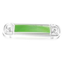 LED marker light green | 12-24v | 50cm. cable