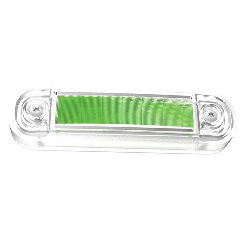 Fristom LED markeringslicht groen  | 12-24v | 50cm. kabel
