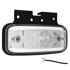 LED markeerlicht wit  | 12-24v |  50cm. kabel