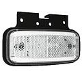 LED markeerlicht wit    12-24v    50cm. kabel
