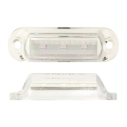 LED markeringslicht wit  12v