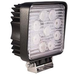 LA LED Arbeitsscheinwerfer   Rund 27 Watt   2160 Lumen   10-110v   Flut-Lichtstrahl
