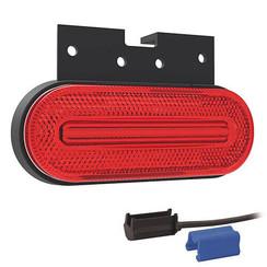 LED Umrissleuchten rot | 12-24V | 0,75mm² Stecker
