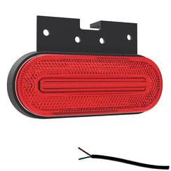 LED Umrissleuchten rot   12-24V   50cm. Kabel