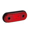 Fristom LED markeringslicht rood    12-24v   50cm. kabel