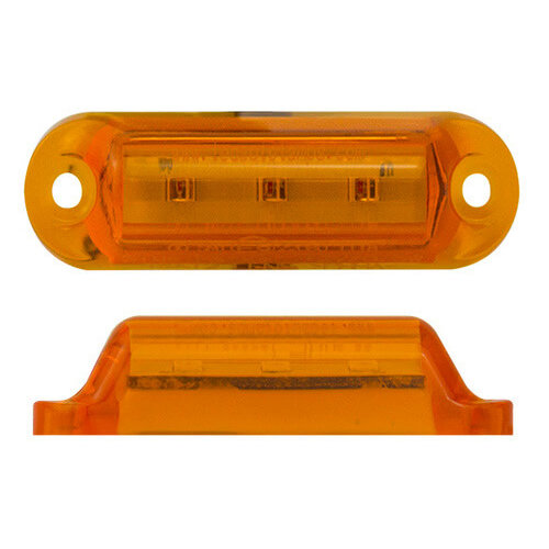 LED markeringslicht amber 24v