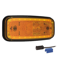 LED markeerlicht amber | 12-24v |  0,75mm² connector