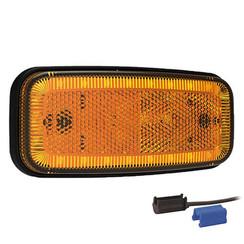 LED Umrissleuchten Gelb | 12-24V | 0,75mm² Stecker