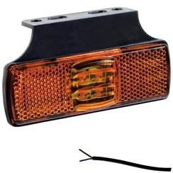 LED Umrissleuchten Gelb   12-24V   50cm. Kabel