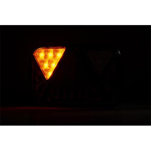 Fristom Links | LED achterlicht met mistlicht  12v
