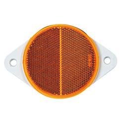 Gelb Reflektor | 78 x 5,5 mm | Schraubbefestigung