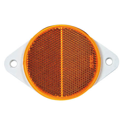 Fristom Amber reflector | 78 x 5,5mm | schroefmontage