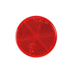 Red reflector | 60 x 5,5mm | 3m-adhesive strip