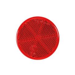 Rode reflector | 60 x 5,5mm | 3m-plakstrip