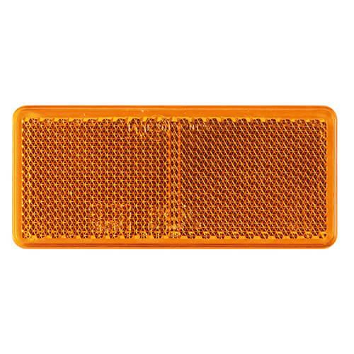 Fristom Amber reflector 90 x 40mm   3m-plakstrip