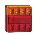 Rem/achterlicht/richtingaanwijzer/reflector| 12v | twin pack