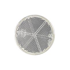 Weißer Reflektor | 60 x 5,5mm | 3M-Klebestreifen
