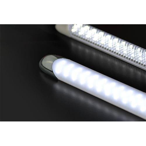 LED interieurverlichting excl. schakelaar 15cm. chroom  12v koud wit