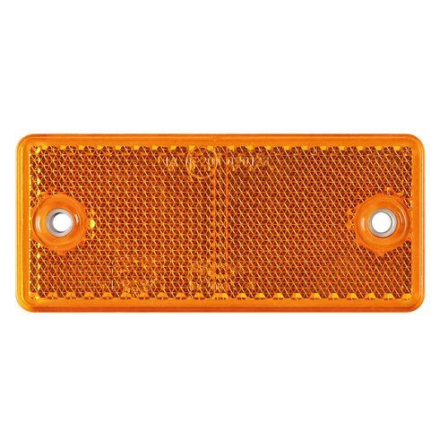 Fristom Amber reflector 90 x 40mm schroefbevestiging