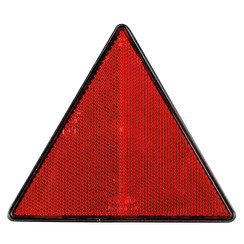 Driehoek reflector met schroefmontage