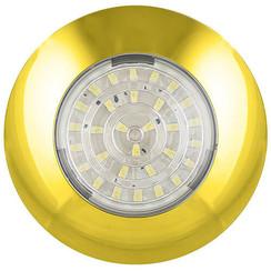 LED Innenraumleuchte Gold 12v. kaltes weiẞes Licht