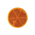 Amber reflector | 60 x 5,5mm | 3m-plakstrip