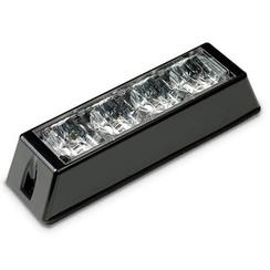 LED Flitser 4 LED's Rood | 10-30v |