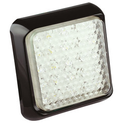 LED-Rücklicht mit schwarzem Rand   12-24V   40cm. Kabel