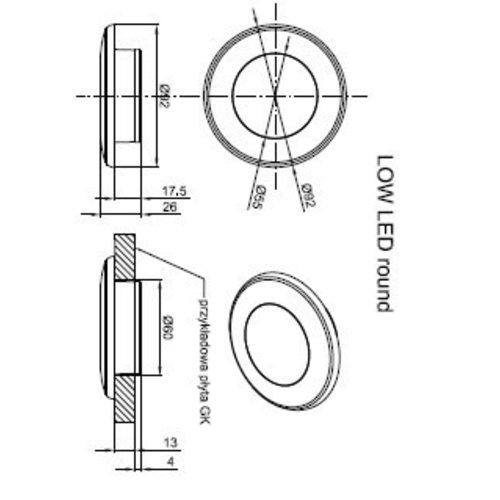 LED interieurverlichting wit  | 12-24v | Warm wit
