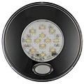 LED interieurverlichting incl. schakelaar zwart  12v. warm wit