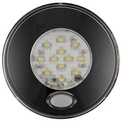 LED Innenraumleuchte inkl. Schwarz-Schalter 12v. Warmweiß