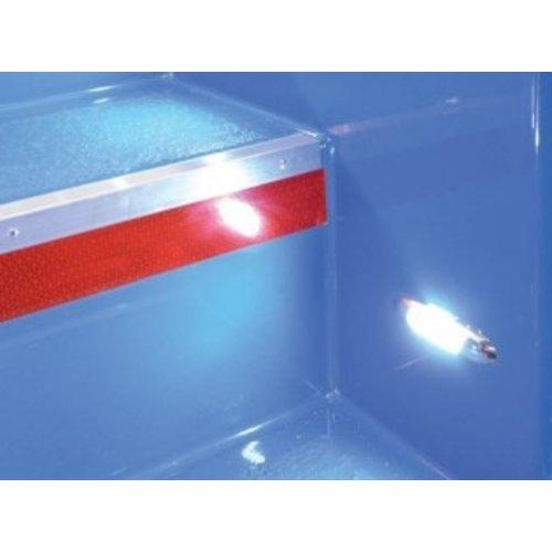 LED Interieur instapverlichting groen  12v