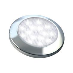 Ultra-flat LED interior chrome 12v cool white