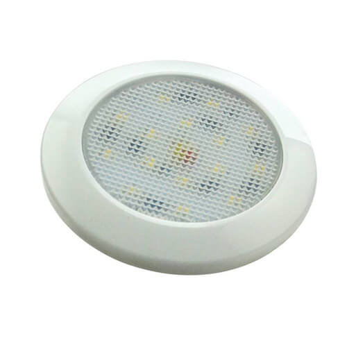 LED Autolamps  Ultraplatte LED interieurverlichting wit  12v koud wit