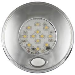 LED Innenraumleuchte inkl. Chrom Schalter 24v. Warmweiẞ