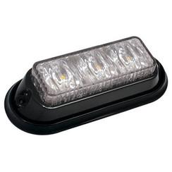 R65 LED Flitser 3 LED's Amber | 12-24v |