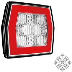 LED achteruitrijlicht met achterlicht  | 12-24v | 5 PIN's aansluiting