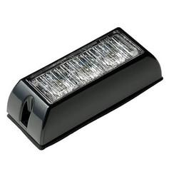 LED Flitser 3 LED's Blauw | 12-24v |