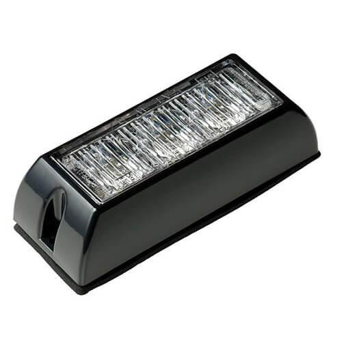 LED Flitser 3 LED's Blauw   12-24v  