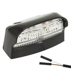 LED license plate light | 12-24v | 2 connector pin's