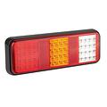LED achterlicht zonder kentekenverlichting    12-24v   40cm. kabel