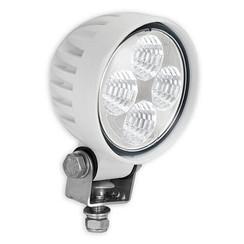 LA LED Arbeitsscheinwerfer | 12 Watt | 800 Lumen | 12-24V | Flut-Lichtstrahl Weiß