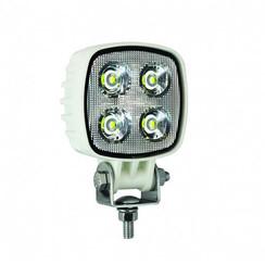 LA LED Arbeitsscheinwerfer | 12 Watt | 1000 Lumen | 12-24V | Flut-Lichtstrahl Weiß