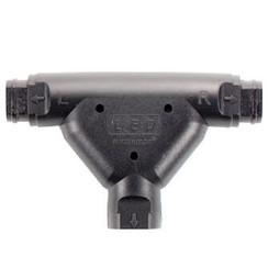 T-plug (koppelstuk) hoofd chassis & verlichtings kabel