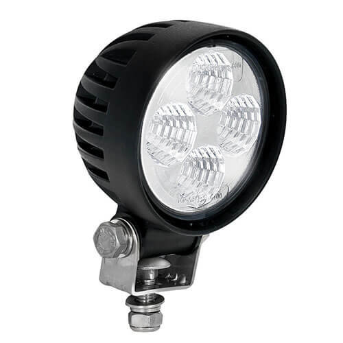 LED LA Werklamp | 12 watt | 800 lumen | 12-24v | Floodbeam Zwart