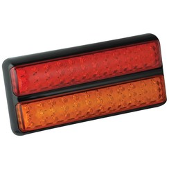 LED-Rücklicht Slimline | 12-24V | 40cm. Kabel